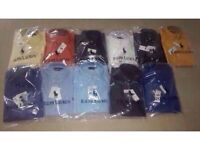 Ralph Lauren mens polo oxford smart shirt small pony long sleeves 2 for £40 cotton