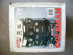 Coleman 518E catalytic heater, 1988 with original box and docume