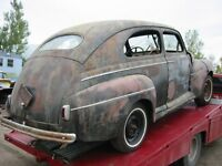1941 FORD Super DeLuxe Body/Panels/Trim for Restore, Hot Rat Rod