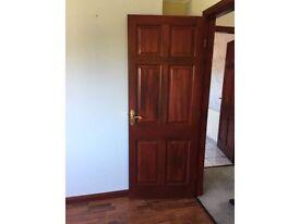 22 dark wood doors