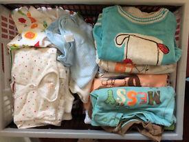 Newborn and 0-3 boys bundle