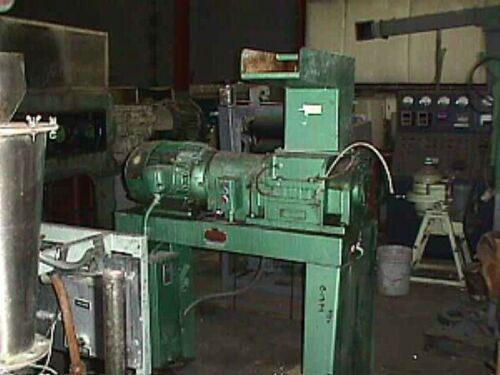 15 HP GRINDER GRANULATOR ENTOLETER 5 X 10 open rotor 3-blade