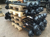 Ifor Williams trailer axle to fit Nugent Hudson dale Kane knott avonride