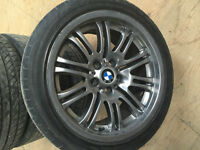 "BMW OEM E46 18"" M3 WHEELS & TIRES"