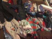 Boys clothes bundle 0-12 months 90+ items