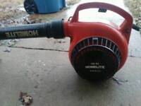Home lite peteol blower old but works