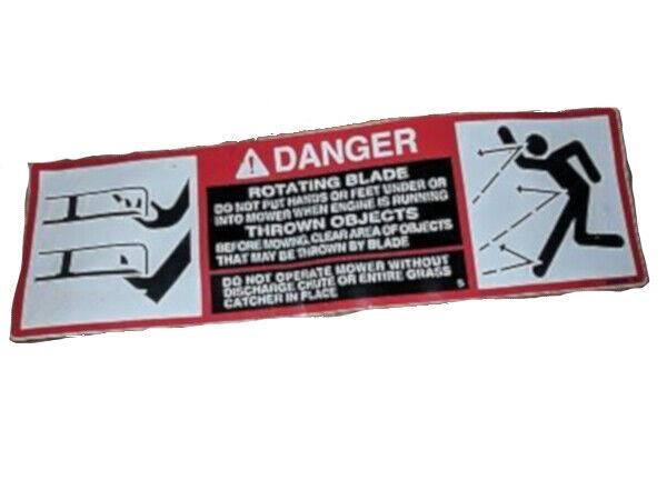 John Deere Original Equipment Safety Sign - M89504,1