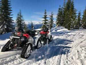 Kimpex Commander RS4 ATV Tracks with Polaris XP Adapters