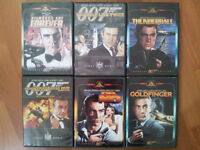 Ultimate 23 James Bond DVD Movie Collection plus a bonus one.