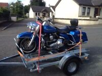 Motorbike moving trailer