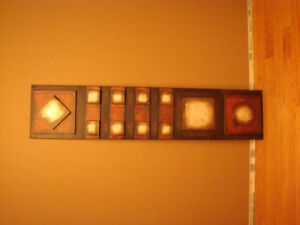 Abstract Metal Wall Decorations - Many To Choose From