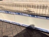 Single bed with storage and free mattress /FREE DELIVERY