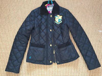 Ladies Joules quilted jacket sz 8