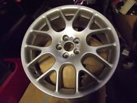"""ROVER 75 / MGZT 18"""" HAIRPIN ALLOY WHEELS REFURBISHED TO AS NEW CONDITION"""
