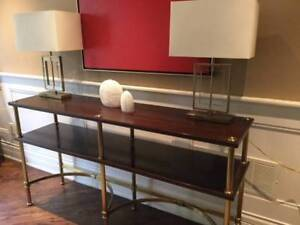 Contemporary Console table