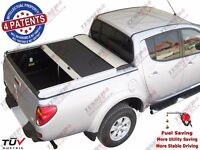MITSUBISHI L200 LONG BED 2009-2015 ROLLER SHUTTER (ROLL ON, CANOPY, TONNEAU COVER/LID, HARDTOP)