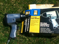 Gun pneumatique Air impact Wrench 1/2 pouce