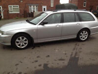 Rover 75 connoisseur se cdt tourer top spec bmw built in sat nav and TVs loads of extras