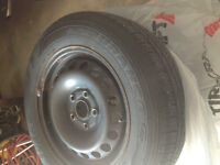 VW 5x112 tires and rims