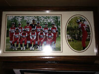 Individual and Sports team Picture Frames