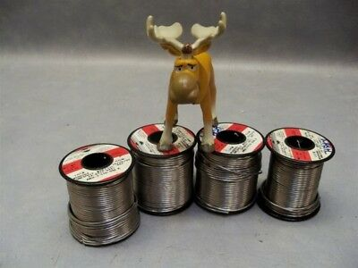 4 Rolls Kester Solder 24-6040-6403 Solder Wire 6040 Snpb 4 X 1lb Rolls