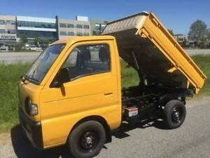 1992 Suzuki Carry 4x Dump