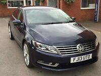 Volkswagen CC GT TDI BLUEMOTION TECHNOLOGY (blue) 2013