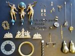 Antique Dutch clock parts