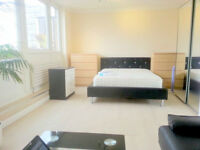 Very large room woth 40in TV, SkyHD, bills included