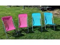 Kids deck chairs