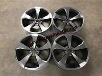 "18 19 20"" Inch Audi RS3 style Alloy wheels A3 A4 A5 A6 A7 A8 Caddy Van Seat Skoda 5x112"