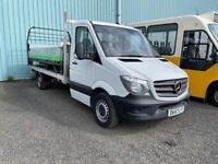 Sep 2017 Mercedes Sprinter 3.5t Chassis Cab LWB FLAT BED