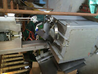 Meat Band Saw and Meat Grinder