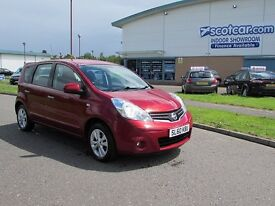 NISSAN NOTE 1.4 16V ACENTA 2 PREVIOUS OWNERS SERVICE HISTORY