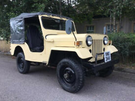 1981 Mitsubishi Willys Jeep 4x4