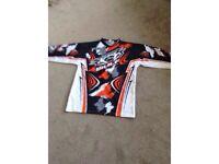 Junior wolf motorcross suit