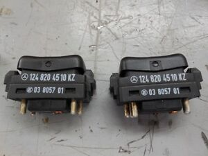 Mercedes-Benz 190E 260E 300SEL 420 1979-1992 Window Switch