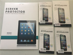 167 pieces iphone and Samsung Galaxy screen protectors only $80