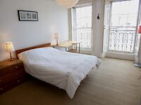 Bright and airy New Town flat near Omni Centre, 2 Kingsize beds for six month let from 1 Nov 16