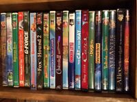 Huge assortment of DVD's and books
