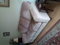 couch , chair , 2 end tables and lamp