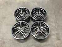 """18 19"""" Inch 313M BMW Style Alloy Wheels E90 E92 E93 F10 F11 F30 F31 F32 F36 F20 1 3 4 5 series 5x120"""