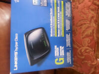 Linksys by/pa Cisco Wireless Router - $40.00 Firm