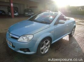 VAUXHALL TIGRA 1.4 CABROLET ONE PREVIOUIS OWNER