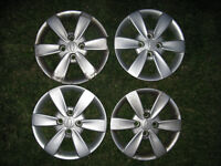 """14"""" Silver Wheel Covers"""