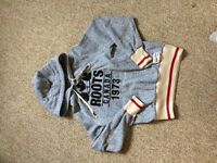 Roots Salt and Pepper Hoodie (Size Medium Womens)