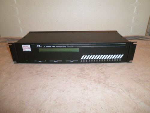 Alcorn McBride V4+ V4 Plus 4-Channel Video Disc and Show Automation Controller