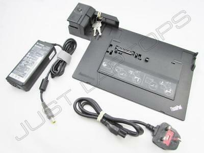Lenovo ThinkPad X230 X230i Docking Station USB 2.0 Inc 90W PSU + Keys