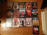 17 DVDs (Karate Kid 2&3, Harold & Kumar, Year One, etc)