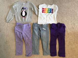 Girls Size 3T Clothing lot - 10 pieces